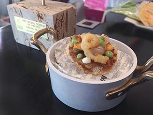 Socarrat de quinoa, ¡Pincho de Oro del Concurso Provincial de Pinchos de Valladolid 2016!