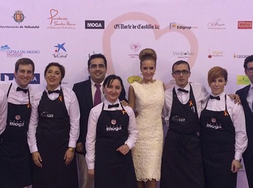 Grupo Moga y Rioluz con la Fundación Sandra Ibarra