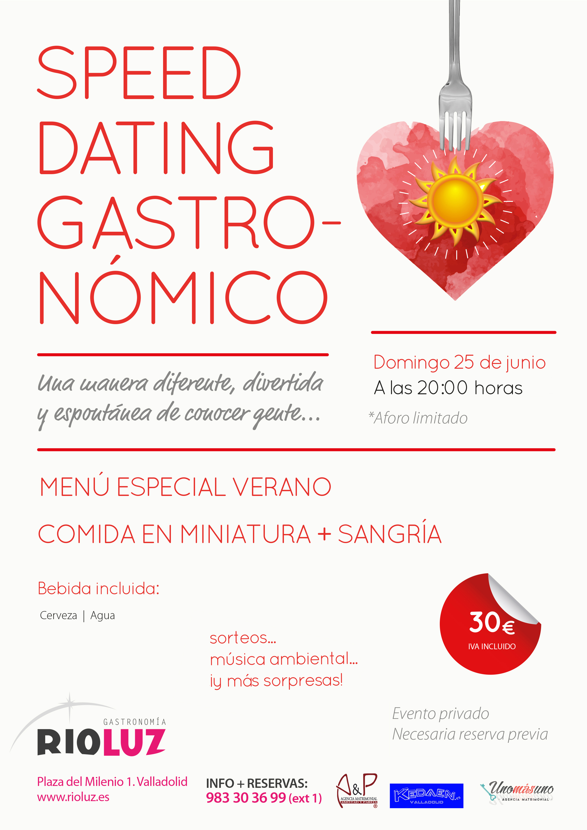 Speed Dating verano1