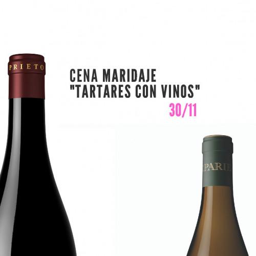 Cena maridaje: Tartares con vinos